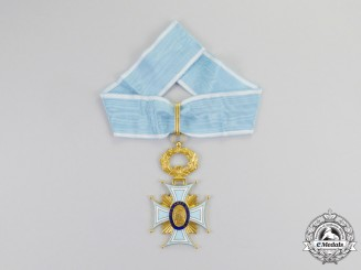 A French Medal of the Academic Society of Letters, Arts and Sciences, Commander's Neck Badge