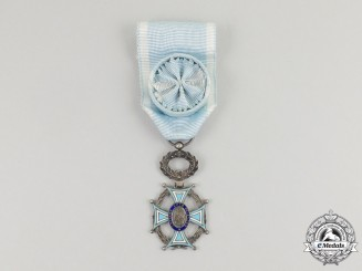 France, Republic. A Medal of the Academic Society of Letters, Arts and Sciences, Officer