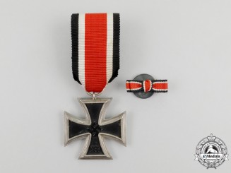 An Iron Cross 1939 Second Class with Boutonniere
