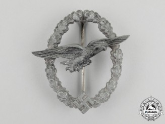 A Second War German Luftwaffe Glider Pilot Badge by Steinhauer & Lück