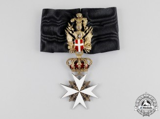 An Italian Sovereign Order of the Knights of Malta; Commander's Cross