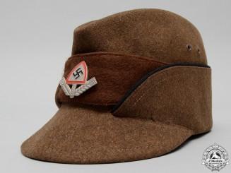 An RAD (Reichsarbeitsdienst) Enlisted Man's Cap