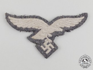 A Second War German Luftwaffe EM/NCO's Breast eagle; Uniform Removed