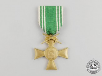 An Interwar Period German Society of Saxon First War Veteran's Honour Cross