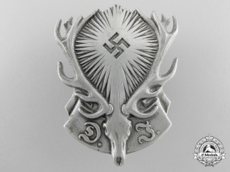 A D.J. German National Hunting Association Membership Badge