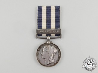 An 1882-89 Egypt Medal to the Medical Service Corps