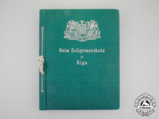 Germany, NSDAP. An Official Photo Album of the Finance Minister's Inspection of the Latvian Border