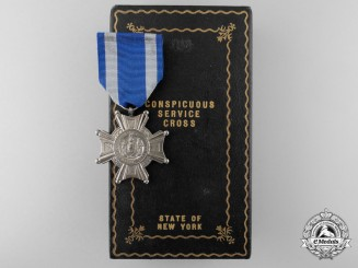 A New York State Conspicuous Service Cross to George H. Kingston, Jr; Vietnam  KIA