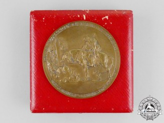 An Imperial German Medal Dedicated to the Fallen Soldiers of Three Polish Conflicts, 1914-1915