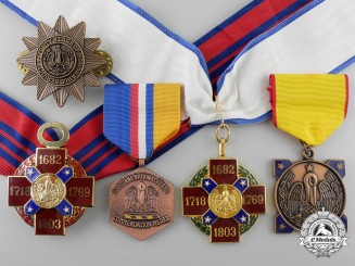 Five Louisiana National Guard State Awards
