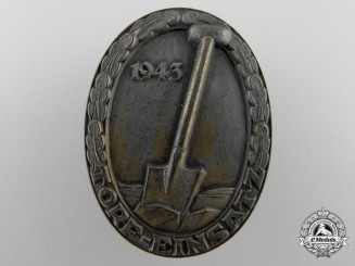A Scarce RAD/Construction Badge 1943
