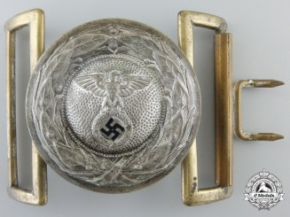 A Rare DLV Officer' Buckle 1933-1935; Published Example