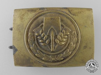 A Volunteer Labour Service (FAD = Freiwilliger Arbeitsdienst) Belt Buckle