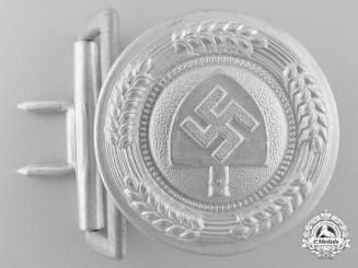 An RAD (Reichsarbeitsdienst) Officer's Belt Buckle