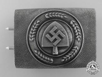 An RAD (Reichsarbeitsdienst) Enlisted Man's Belt Buckle by Overhoff & Cie, Ludenscheid