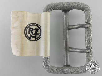A Mint Open Double Claw Belt Buckle by Paul Cramer & Co.