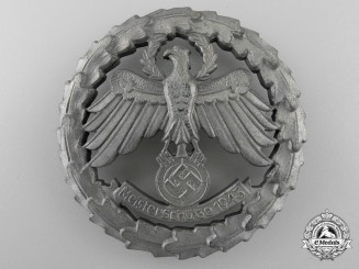 A German Marksman's Shooting Badge 1943; Numbered