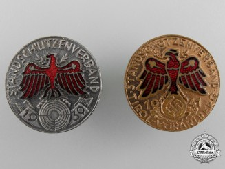 Two Tirol Shooting Awards 1939/1941