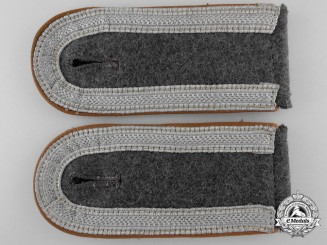 A Pair of Luftwaffe Shoulder Straps; Signals Unit