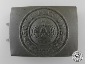 A Near Mint First War Prussian Belt Buckle