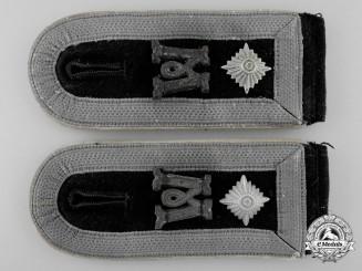 A Hermann Göring Division; Panzer Feldwebel's Shoulder Straps