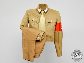 An NSDAP Kreis Level Uniform; HauptStellenleiter