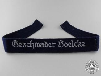 Germany, Luftwaffe. A Geschwader Boelcke Cufftitle