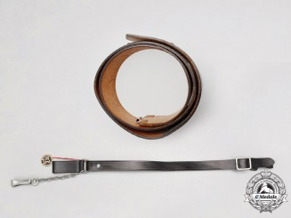 Germany. A Mint SS Belt and Strap