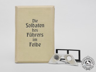"The Soldiers of the Führer in the Field"" Stereoscopic Book & Glasses"