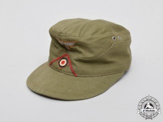 A German DAK (Deutsches Afrika Korps) General Staff Field Cap