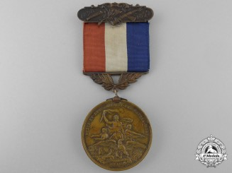 An 1898-1899 State of Colorado Spanish-American War Medal; Named