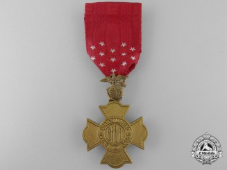 A United States Marine Corps Brevet Medal