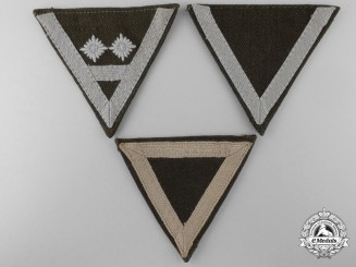 Three Reich Labour Service RAD Rank Insignia