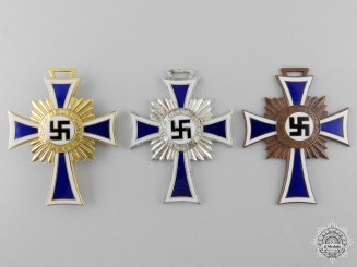 Three Second War German Mother's Crosses
