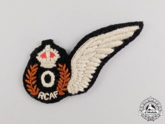 A Second War Royal Canadian Air Force (RCAF) Observer (O) Wing