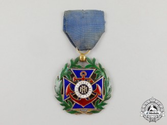 A Cuban Order of Naval Merit; 3rd Class Officer for Lieutenants and Ensigns