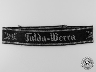A Veteran's NS-RKB Fulda-Werra Chapter Cufftitle