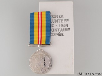 Korea Volunteer Service Medal 1950-54