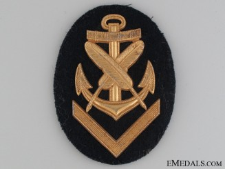 Kreigsmarine Clerical NCO's Sleeve Badge