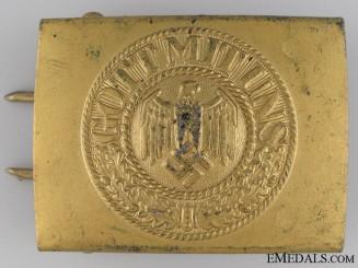 Kriegsmarine EM Parade Belt Buckle