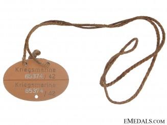 Kriegsmarine ID/Dog Tag