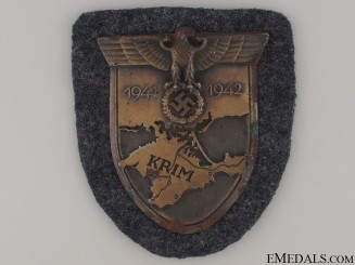 A Luftwaffe Issued Krim Shield