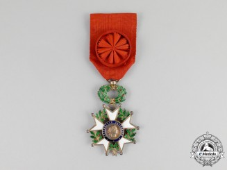 A French Order of the Legion of Honour, Officer, Model of the Fifth Republic (1962-current)