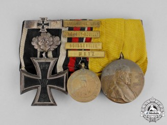 Germany, Imperial. An 1870 Iron Cross with 1914 Spange Medal Bar