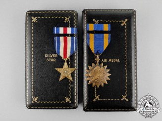 A Silver Star Group to Brigadier General John Robert Dyas Sr., United States Air Force