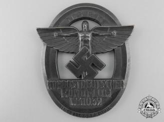 A Large NSFK Non portable Award; Nordostdeutscher Rundflug 10.u.11.6. 39