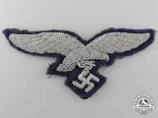 A Luftwaffe Officer's Breast Eagle; 2nd Pattern