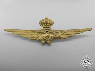 A Pre Second War Italian Pilot's Badge