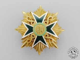 International. A Military and Hospitaller Order of Saint Lazarus, Breast Star, c.1975