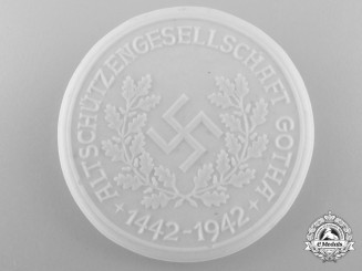 A 500th Anniversary of the Gotha Shooting Association Medal